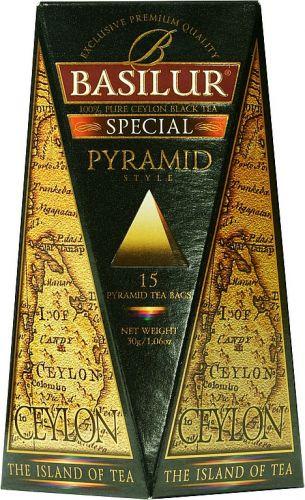 Čaj Basilur černý - pyramidové sáčky