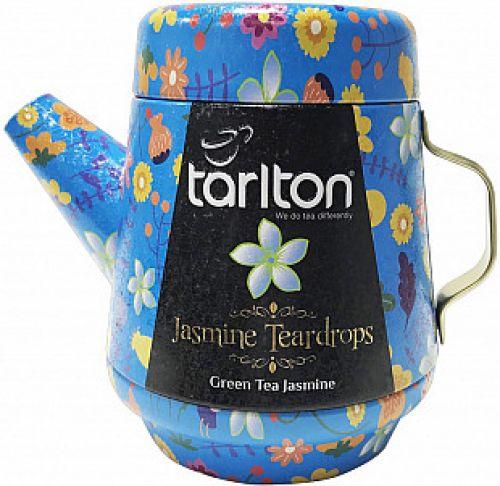 Čaj zelený s jasmínem Tarlton konvička plech