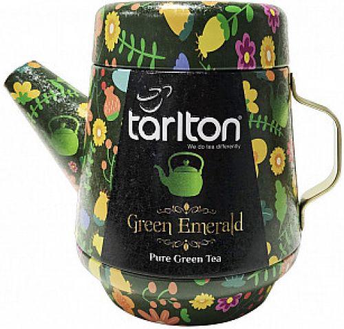 Čaj zelený Tarlton konvička plech