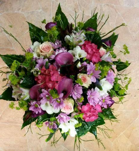 Sezónní mix v růžových odstínech